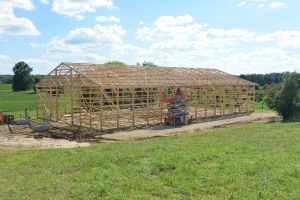 A Leap Of Faith – Building Our Barn – Part 2