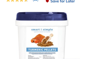 10 Things We Recommend for 2020 – #7 SmartPak Turmeric Pellets